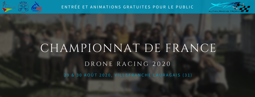 Championnat de France de drone racing 2020